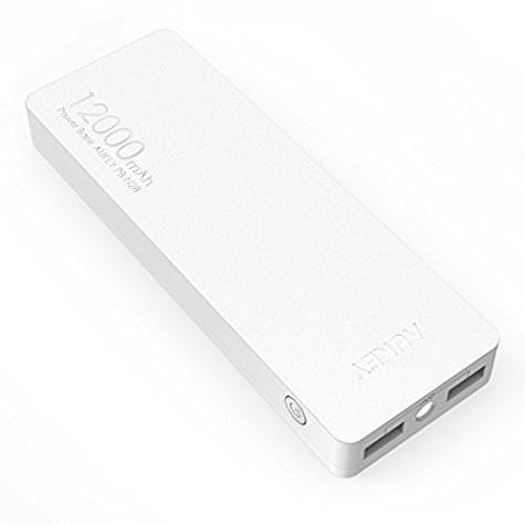 Batterie USB AUKEY 12000mAh 2.4A avec 2 ports USB