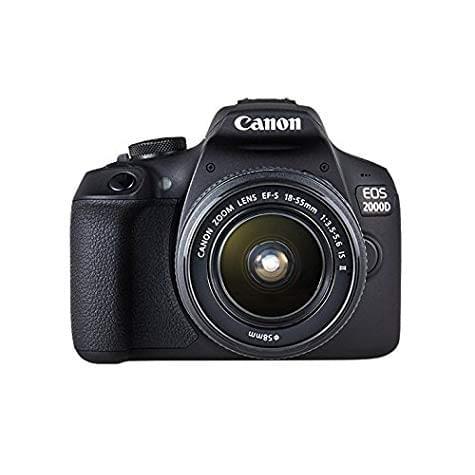 Kit Reflex Canon EOS 2000D (24 Mpix / Wifi) + Objectif EF-S 18-55mm