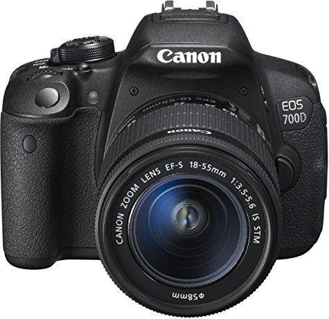 Reflex Canon EOS 700D + objectif 18-55mm