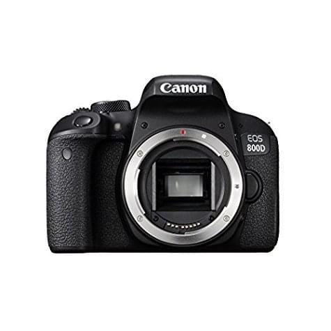 Reflex Canon EOS 800D (boîtier noir)
