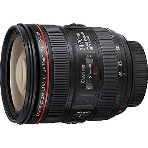 Objectif zoom standard Canon 24-70 mm f/4.0 L IS USM (avec ODR 200€)