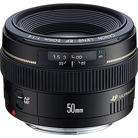 Objectif Canon EF 50mm F/1,4 USM (avec Code Promo -50€)
