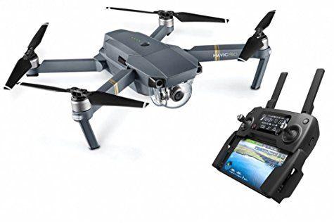 Drone quadricoptère DJI Mavic Pro avec télécommande et caméra 4K