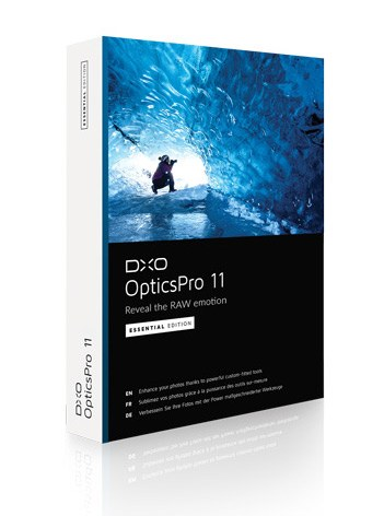 Logiciel photo DxO Optics Pro 11 gratuit