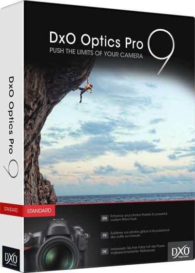Logiciel photo DxO Optics Pro 9 Elite gratuit