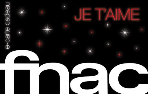 Carte cadeau FNAC Saint Valentin valeur 40€ (valable jusqu'au 14/02)