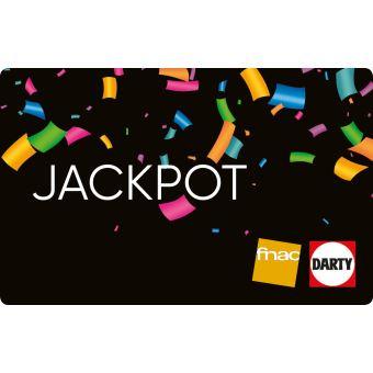 -10€ sur la carte cadeau FNAC / DARTY « JACKPOT » (valable jusqu'au 31/07)