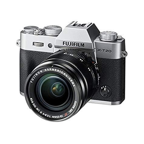 Hybride Fujifilm X-T20 + objectif XF 18-55mm (24 Mpix / 4K)