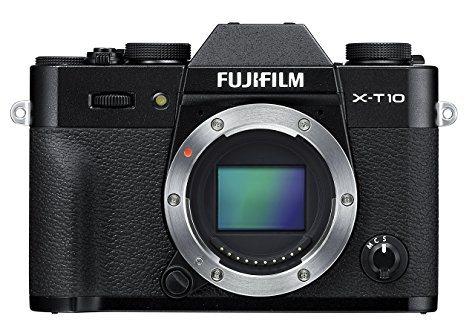 Hybride Fujifilm X-T10 (Boitier seul ou avec objectif XC 16-50mm)
