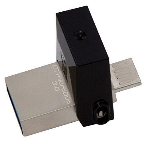Clé USB 3.0 Kingston DataTraveler MicroDuo 64  Go (double prise USB + Micro-USB)