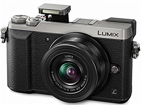 Lumix GX80 argent + Objectif 12-32mm (avec 100€ d'ODR)