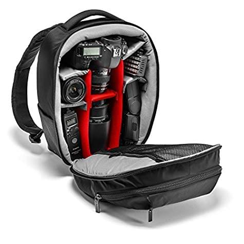 Sac à dos photo Manfrotto MB Gear Pack (taille M) - intérieur