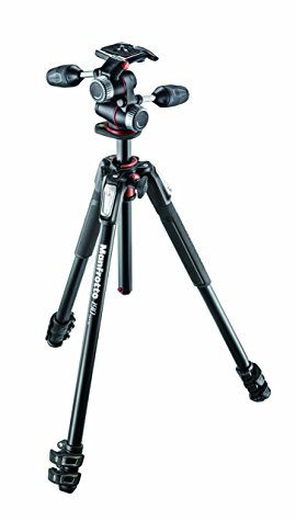 Trepied Manfrotto MK190XPRO3-3W (Aluminium 3 Sections + Rotule 3D)