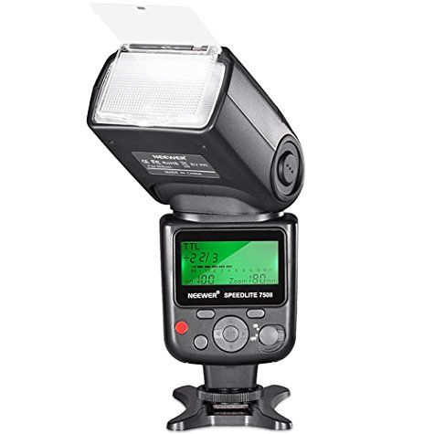 Flash cobra Neewer Speedlite 750II TTL avec LCD