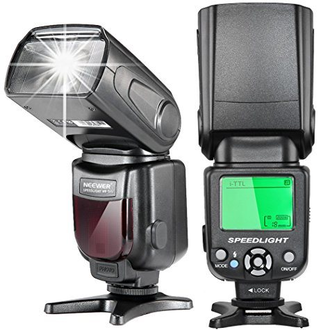 Flash cobra Neewer i-TTL Speedlite avec LCD