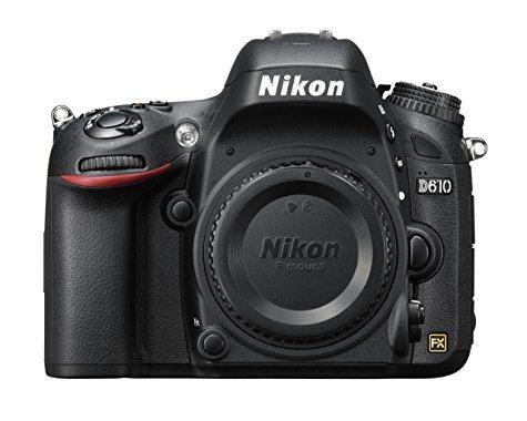 Boitier Reflex Nikon D610 (24 Mpix - Full Frame)