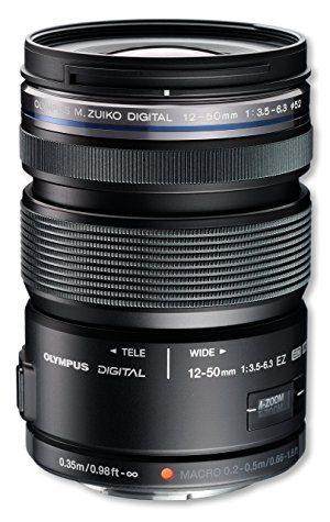 Objectif Olympus M.Zuiko zoom 12-50mm f/3.5‑6.3