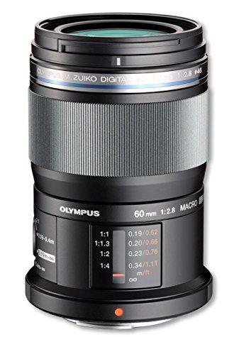 Objectif Olympus M.Zuiko f/2.8 60 mm Macro (avec ODR 75€)