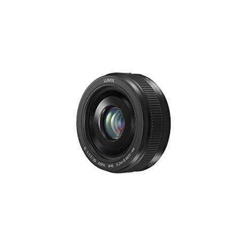 Objectif Panasonic Lumix G 20 mm/F 1.7 II ASPH