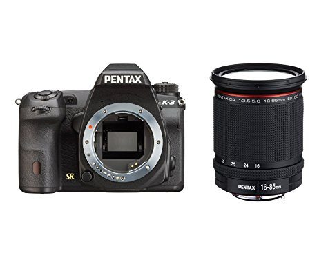 Reflex Pentax K-3 (20 Mpix / WiFi / Tropicalisé) + Objectif DA 16-85mm