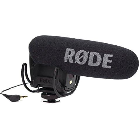 Microphone Rode Videomic Pro à condensateur