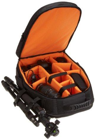 sac dos amazonbasics pour appareil photo reflex et pc. Black Bedroom Furniture Sets. Home Design Ideas