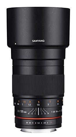 Objectif Samyang 135mm F/2.0 ED UMC (monture Nikon)