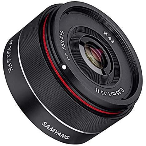Objectif Samyang AF 35mm F/2.8 autofocus (monture Sony E-Mount)