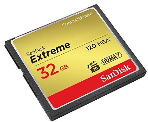 CompactFlash SanDisk Extreme 32 Go (UDMA 7 / 120 Mo/s)