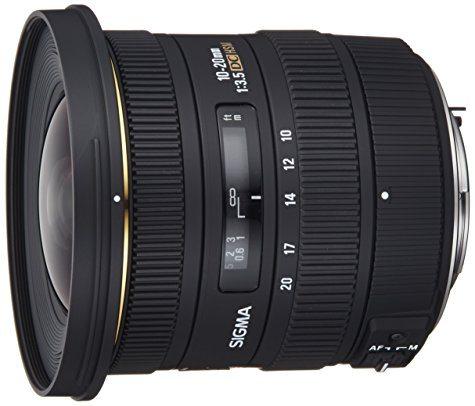 Objectif Sigma 10-20 mm F3,5 EX DC HSM - monture Pentax