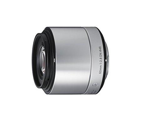 Objectif Sigma 60 mm F2.8 DN ART (argent) pour hybride