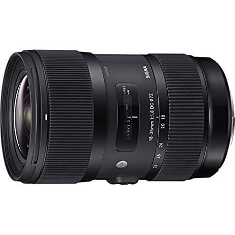 Objectif Sigma 18-35mm f/1,8 DC HSM ART (Monture Canon)
