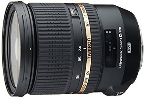Objectif Tamron SP 24-70 mm F/2,8 Di VC USD (monture Canon / Nikon / Sony)