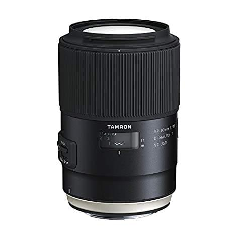 Objectif Tamron SP 90mm  F/2.8 Di MACRO 1:1 VC USD (monture Canon)