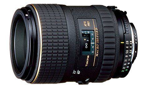 Objectif Tokina AT-X Macro 100 mm f/2.8 (pour reflex Canon)