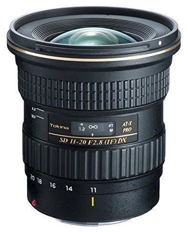 Objectif Tokina AT-X PRO DX 11-20 mm f/2.8 (pour reflex Canon)