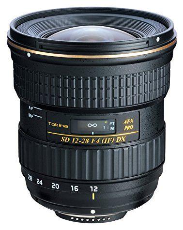 Objectif Tokina AT-X PRO DX 12-28 mm f/4 (pour reflex Nikon / Canon)