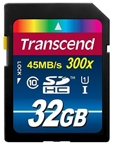 Carte Mémoire SDXC Transcend 32 Go Classe 10