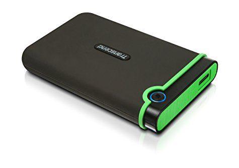 Disque dur portable Transcend StoreJet 1 To (Anti-choc / USB 3.0)