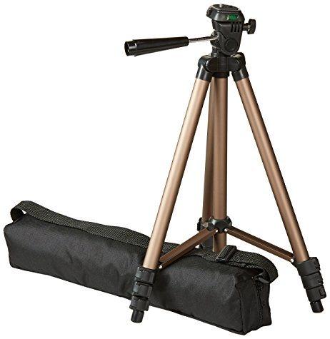 Trepied ultraléger AmazonBasics 127 cm (avec sac de transport)